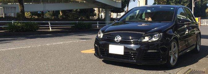 VW:ゴルフ6-Rにレカロシート装着。