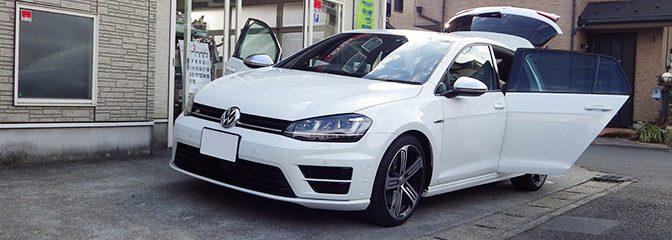 VW:ゴルフ7にレカロシート装着。